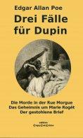 ebook: Drei Fälle für Dupin