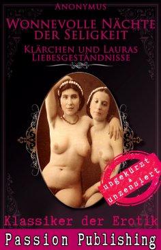 ebook: Klassiker der Erotik 48: Klärchen und Lauras Liebesgeständnisse