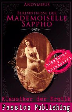 eBook: Klassiker der Erotik 53: Bekenntnisse der Mademoiselle Sappho