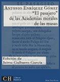 eBook: El Pasajero, de las Academias morales de las musas