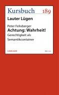 eBook: Achtung: Wahrheit!
