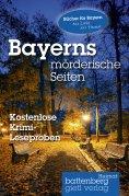 eBook: Bayerns mörderische Seiten