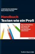 eBook: Texten wie ein Profi - Handbuch