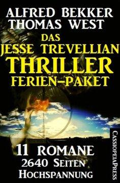 ebook: Das Jesse Trevellian Thriller Ferien-Paket: 11 Romane