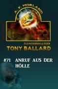 ebook: Tony Ballard # 71: Anruf aus der Hölle
