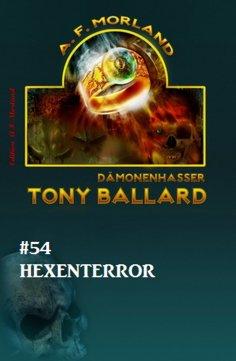 eBook: Tony Ballard #54: Hexenterror