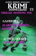 eBook: Krimi Doppelband 72 - Thriller Spannung pur