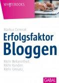 eBook: Erfolgsfaktor Bloggen
