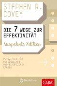 eBook: Die 7 Wege zur Effektivität Snapshots Edition