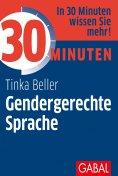 eBook: 30 Minuten Gendergerechte Sprache