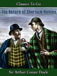 ebook: The Return of Sherlock Holmes
