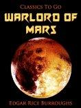 eBook: Warlord of Mars