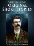 eBook: Original Short Stories — Volume 11