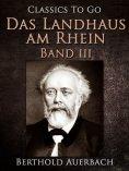 eBook: Das Landhaus am Rhein / Band III