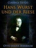 eBook: Hans Wurst und der Riese