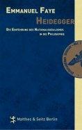 eBook: Heidegger. Die Einführung des Nationalsozialismus in die Philosophie
