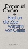 eBook: Brief an eine Zoowärterin aus Calais