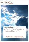 eBook: Wetterfühligkeit
