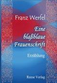 eBook: Eine blaßblaue Frauenschrift