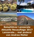 eBook: Reiseführer Lanzarote Aktuelle Neuauflage 2017