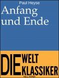 eBook: Anfang und Ende