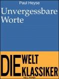 eBook: Unvergessbare Worte