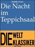 eBook: Die Nacht im Teppichsaal