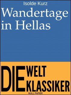 eBook: Wandertage in Hellas