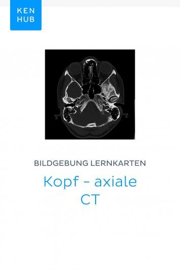 Kenhub: Bildgebung Lernkarten: Kopf - axiale CT - als eBook ...