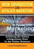 eBook: Dein Grundstein zum Affiliate Marketing