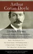 eBook: Sherlock Holmes: Gesammelte Romane & Detektivgeschichten / Sherlock Holmes: The Collected Novels & S