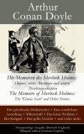 eBook: Die Memoiren des Sherlock Holmes: Holmes' erstes Abenteuer und andere Detektivgeschichten / The Memo
