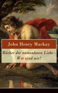 eBook: Bücher der namenlosen Liebe - Wer sind wir?