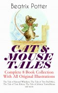 eBook: CAT & MOUSE TALES – Complete 8 Book Collection With All Original Illustrations
