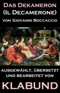 eBook: Das Dekameron (Il Decamerone)